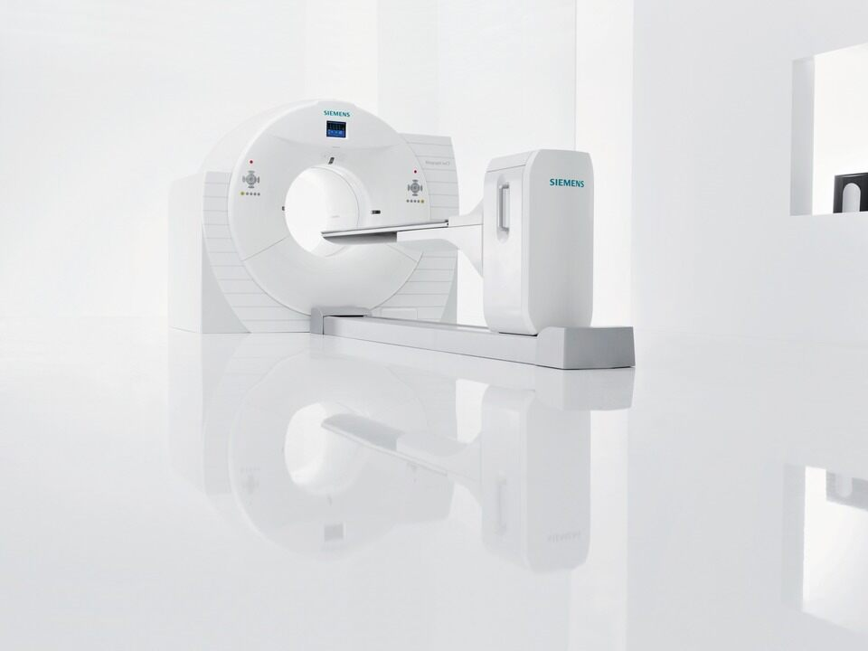 Siemens Biograph mCT PET CT Scanner